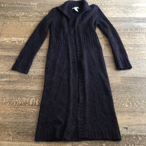 Free People long mohair blend cardigan